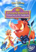 Around the world with Timon & Pumbaa DVD