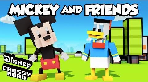 Disney Crossy Road The Animated Series Mickey and Friends