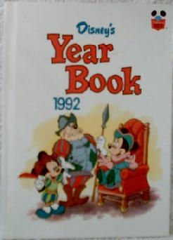 Disney yearbook 1992