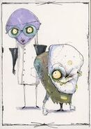 Dr. Finkelstein and Igor Early Concept