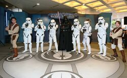 Jedi Training Academy at Hong Kong Times Square