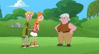 Jeremy, Candace and Hilda
