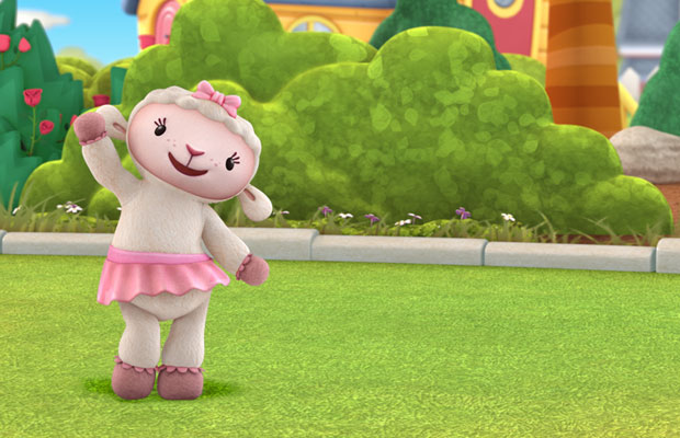 "Disney Junior Doc McStuffins Take Care of Me Lambie - Toys""R""Us"