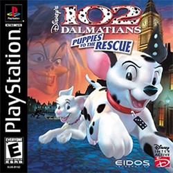 102 Dalmatians - Puppies to the Rescue Coverart