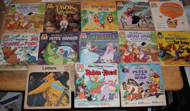 File:Disney Read Along Book and Tapes.jpg