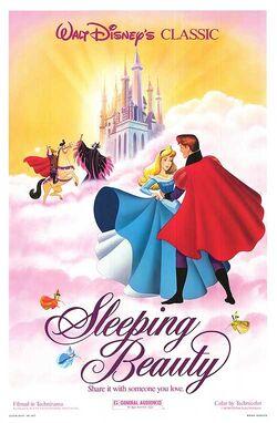 Sleeping Beauty 1990's Re-Release Poster