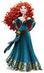 Disney-Princess-MERIDA-ROYAL-DEBUT-STANDEE-STAND-UP