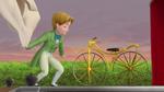 Gold Bi-Cycle