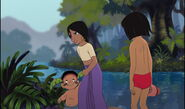 Shanti is angry and she's takeing Ranjan away from Mowgli