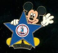 Virginia Disney Pin