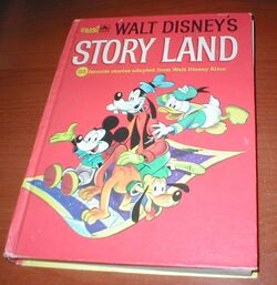 Walt disneys story land