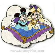 Mickey&Minnie as Aladdin & Jasmine