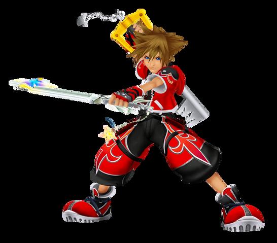 File:Sora (Valor Form) KHII.png