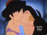 Aladdin & Jasmine Kiss - Stinker Belle