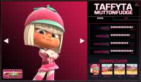Taffyta's stats