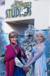 Anna and Elsa at Disney's Hollywood Studios