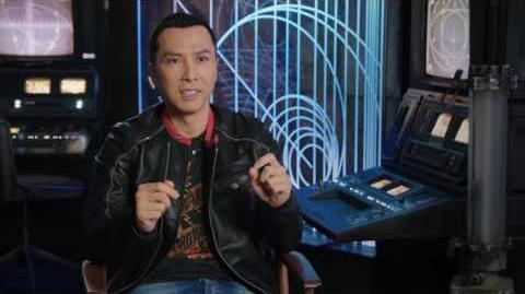 """Rogue One """"Chirrut"""" On Set Interview - Donnie Yen"""