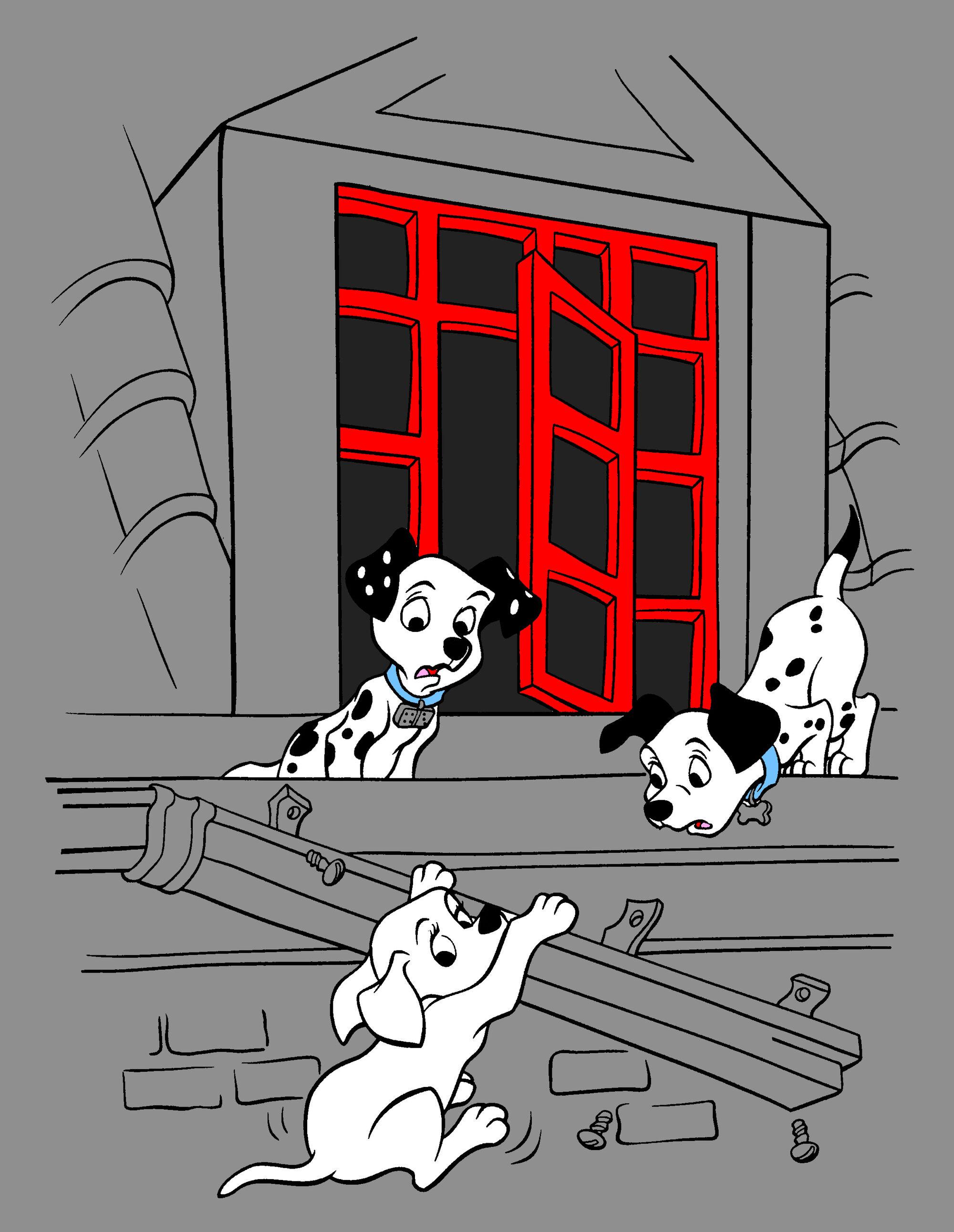 102 dalmatian coloring pages - image 102 dalmatians coloring pages disney wiki