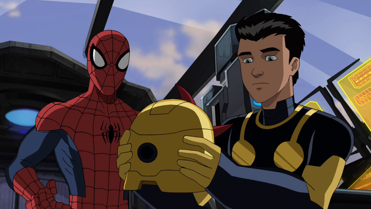 Image spider man and nova usww disney wiki - Nova ultimate spider man ...