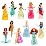Disney Princess 11 Princesses 2014 Doll Collection Set