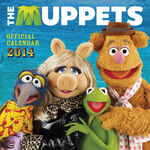 The Muppets Official Calendar 2014
