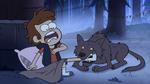 S1e16 dipper wolf attack