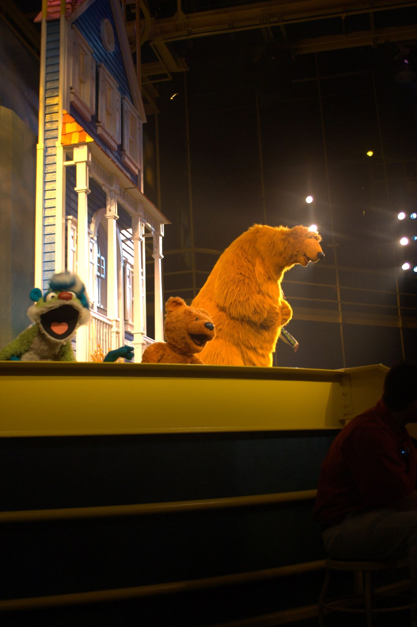 bear in the big blue house live on stage disney wiki fandom