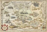 The Map of Oz From Oz The Great and Powerful