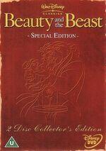 Beauty and the Beast SE CE 2002 UK DVD