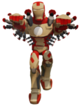 DI Iron Man Weapons Render