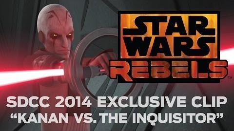 "Star Wars Rebels SDCC 2014 Exclusive Clip - ""Kanan vs"