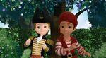 James and Zandar playing Pirates