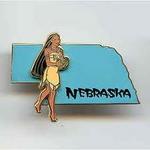 Nebraska Pin