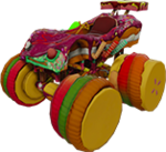 Infinity Candy Kart Monster truck