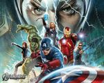 Avengers background