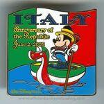 Italy Anniversary Pin