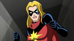 Ms. Marvel angry