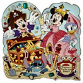 Pirate and Princess Party pin