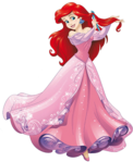 Sticker les princess disney Ariel