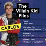 The Villain Kid File - Carlos