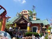 Go-coaster entrance