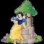Snow White and little bird