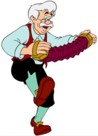 Geppetto the carpenter
