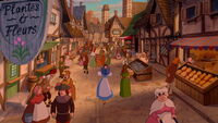 Beauty and the Beast Village