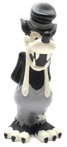 File:Big Bad Wolf Figurine B&W.jpg