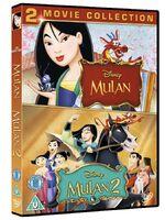 Mulan 1-2 Box Set UK DVD