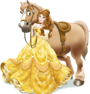 Belle with horse