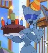 Happy birthday Agent X