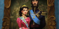 King Raul and Queen Lucia