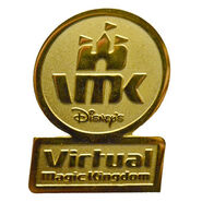 Virtual Magic Kingdom Tour Guide Pin